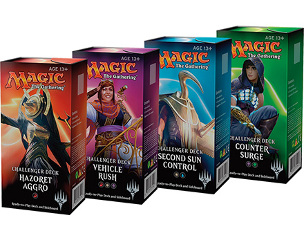 Challenger Decks set van 4 decks