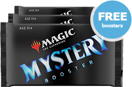 3 Mystery Boosters