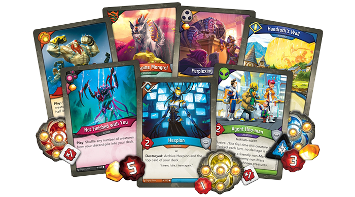 KeyForge Age of Ascension set