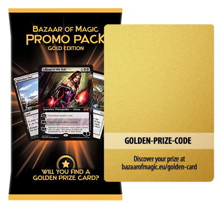 Have you found a coveted Golden Prize Card in your promo pack?