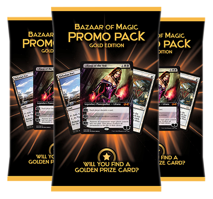 Which promo card do you find in your promo pack?