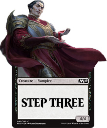 De derde stap in het leren van Magic: the Gathering