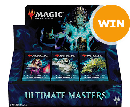 Win een boosterbox Ultimate Masters